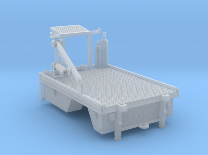 Maintainer Service Truck Bed 1-87 HO Scale 3d printed