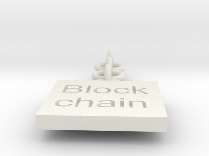 block chain 3d printed