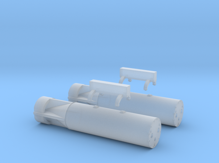 Mark 11 Depth Charge 3d printed Mark 11 Depth Charge (1/72)