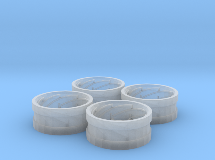 AC Power Adjust Rims Set of 4 3d printed
