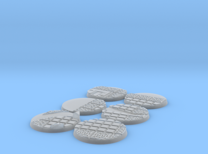 X6 Lizard men 60mm bases 3d printed