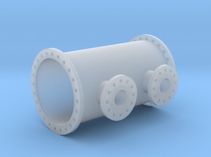 Rohrleitung 1000mm x 2000mm - TT 1:120 3d printed