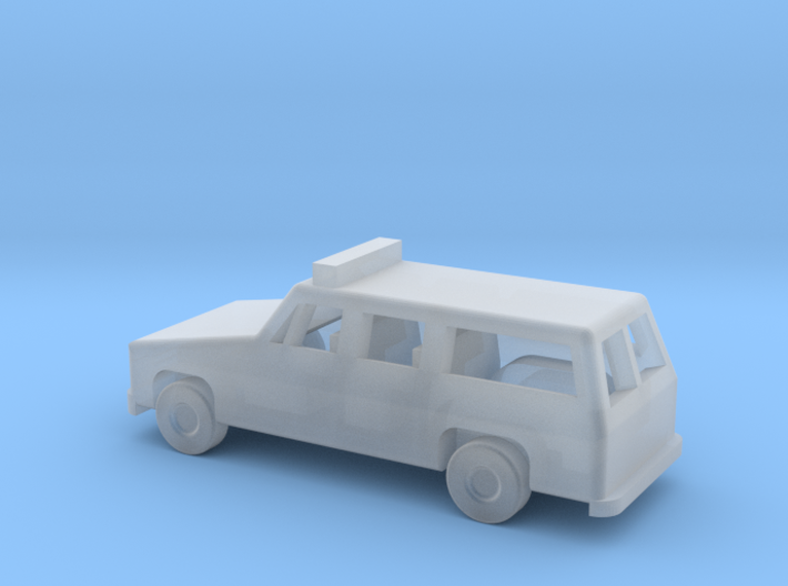 1/160 ScaleSuburban With Lights 3d printed