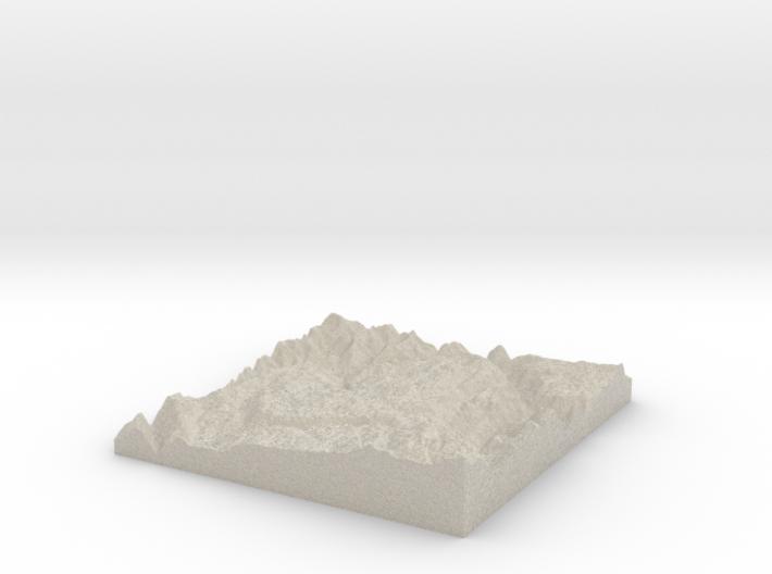 Model of Laz 3d printed