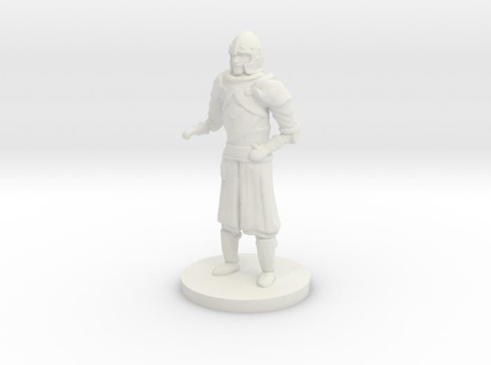 Human Guard Unarmed 3d printed