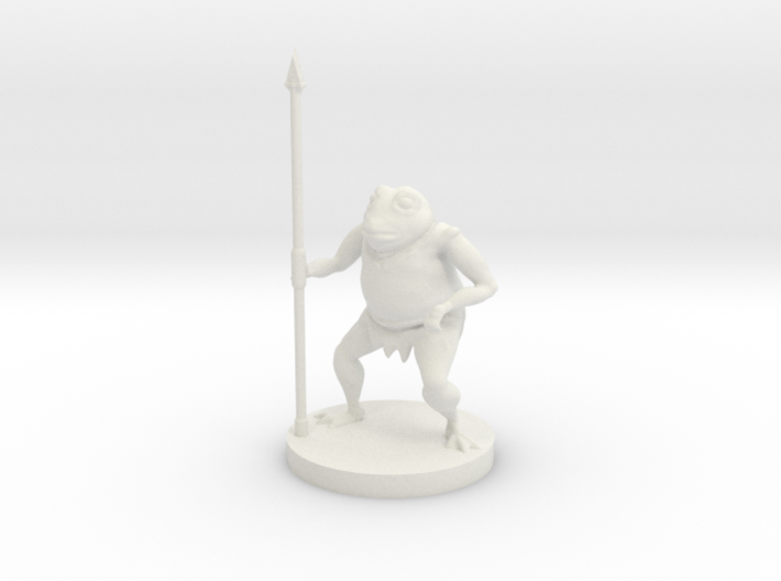 Bullywug - Spearman 3d printed