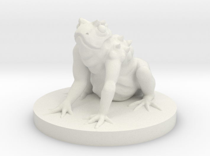 Giant Frog Monster 3d printed