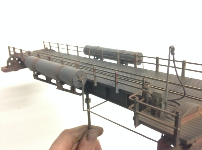 Locomotive Turntable & Well for N 3d printed