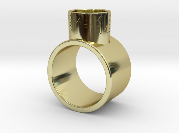 Ring inspired by Supreme Leader Snoke 3d printed