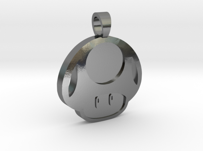 Toad [pendant] 3d printed