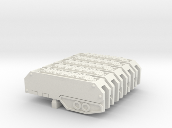 Armoured Sub-terrainian Breaching Vehicle Track 3d printed