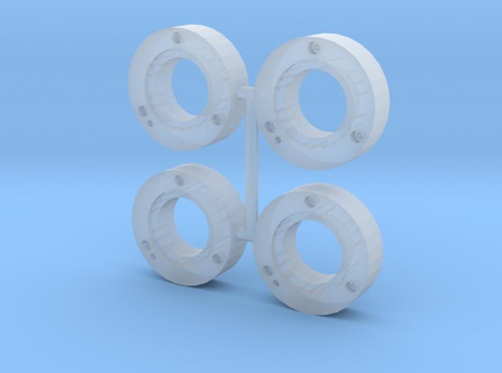 MF inner wheel weights v2.0 (4 pack) 3d printed