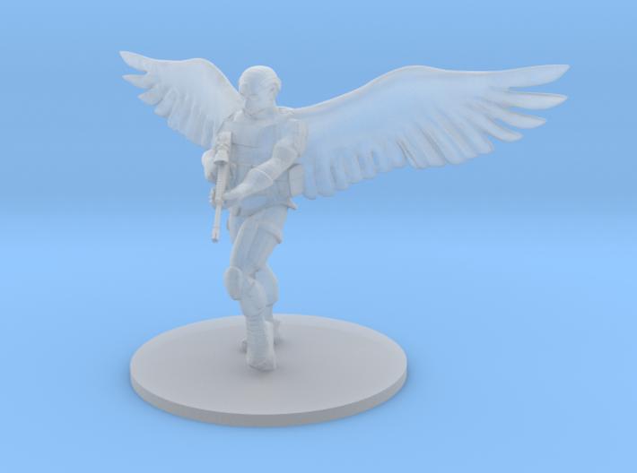 Saint Michael, Archangel of the Airborne 3d printed