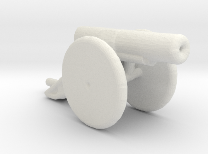 bl 6 inch 30 cwt howitzer 1/285 3d printed