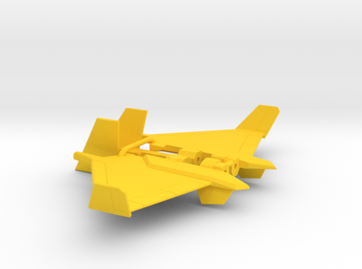 Dirge wings for CW Skydive 3d printed