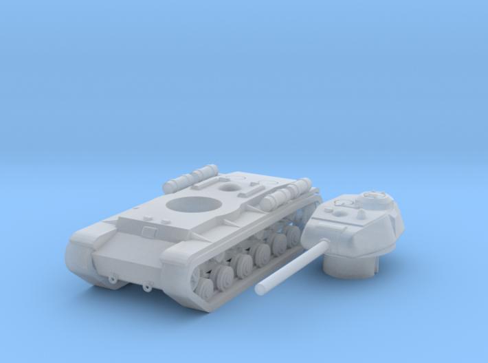 1/285 KV-85 3d printed