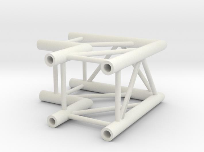 Square truss L90 1:10 3d printed