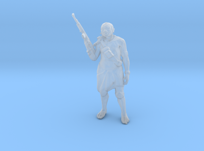 Hero Tribal 3d printed