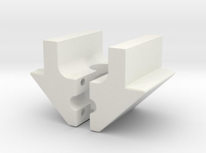 nylon peccar V insert 3d printed