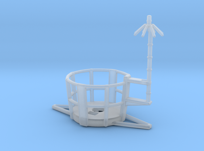 1/125 Top Platform for Main Mast 3d printed