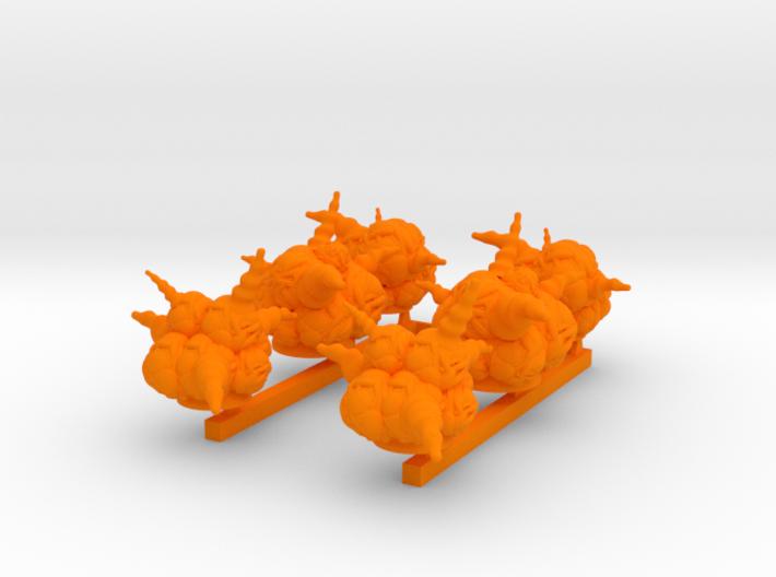x6 blast markers 3d printed
