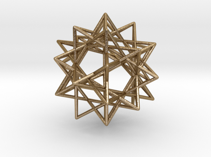 "IcosiDodecahedral Star 1.5"" V2 3d printed"