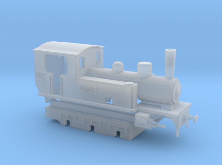 "FdS locomotiva Winterthur ""Goito"" 3d printed"