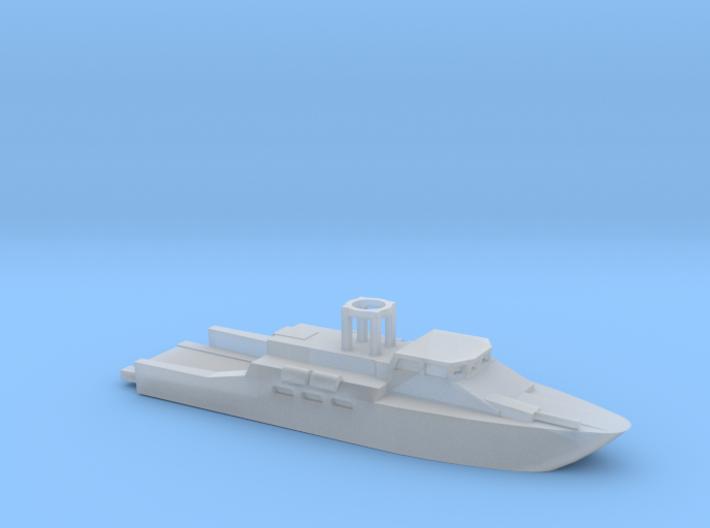1/285 Scale CB90-class fast assault craft 3d printed