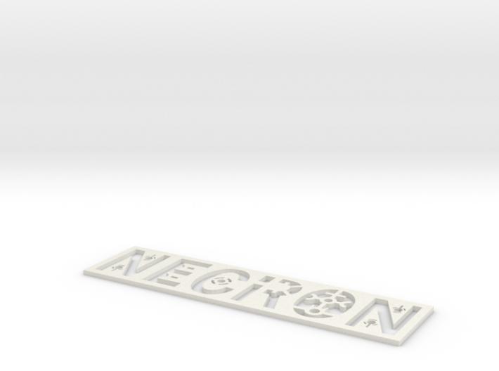 Necron Bookmark 3d printed
