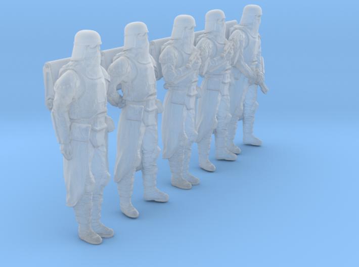 1/35 Sci-Fi Sardaucar Platoon Set 101-01 3d printed