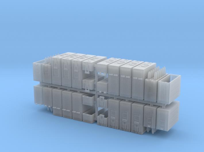 1/35 3.7cm Flak Ammo Boxes 3d printed