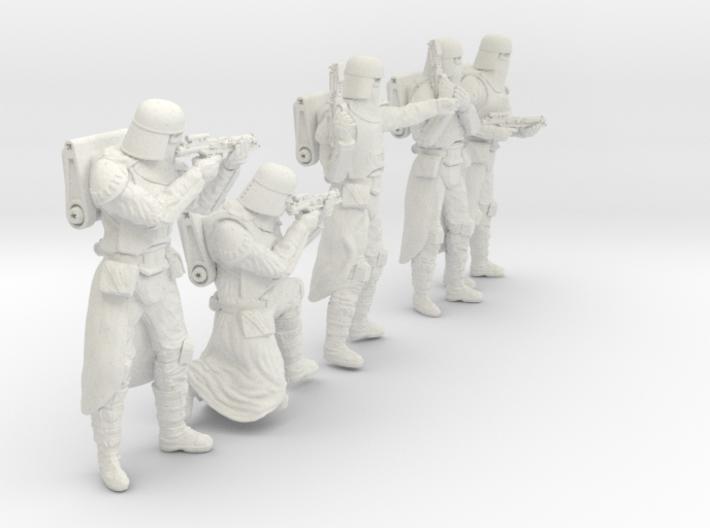 1/24 Sci-Fi Sardaucar Platoon Set 101-02 3d printed