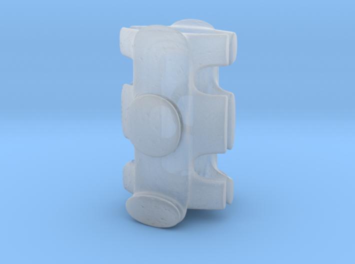 Small Spaceship 3d printed