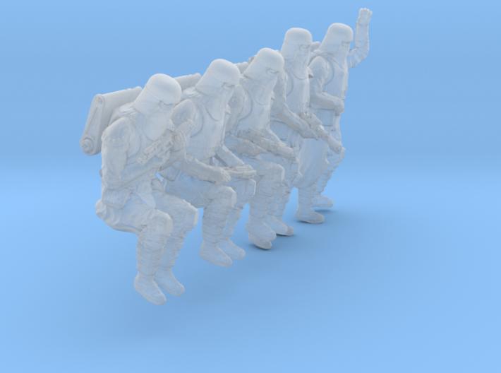 1/32 Sci-Fi Sardaucar Platoon Set 102-04 3d printed