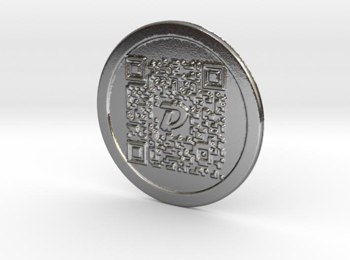 DigiByte Metal Wallet 3d printed