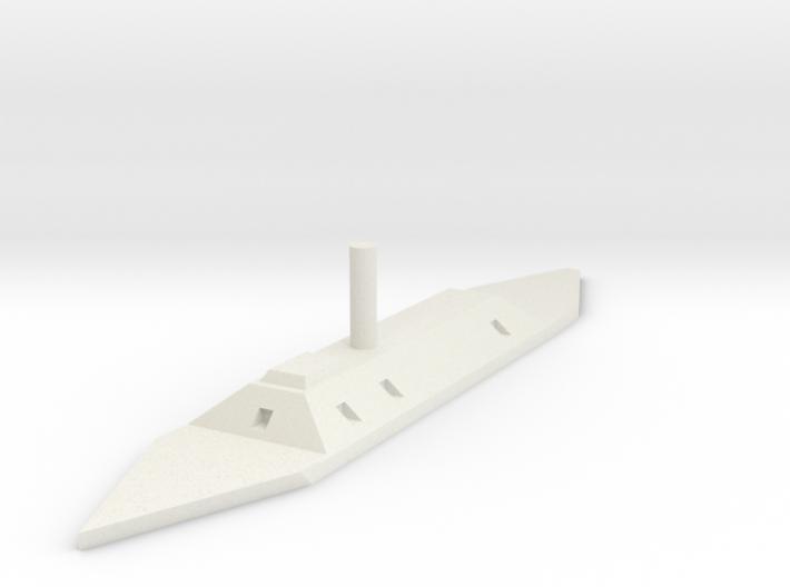 CSS Atlanta 1/600 3d printed