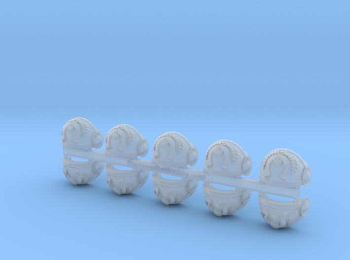 5x Ultra Legion Elite = Tartaros Shoulder Sets 3d printed