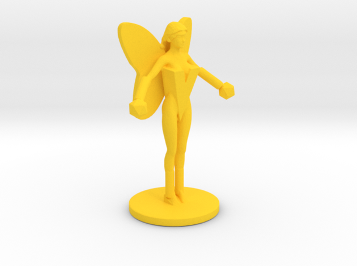 Flame Flyer Figure 3d printed