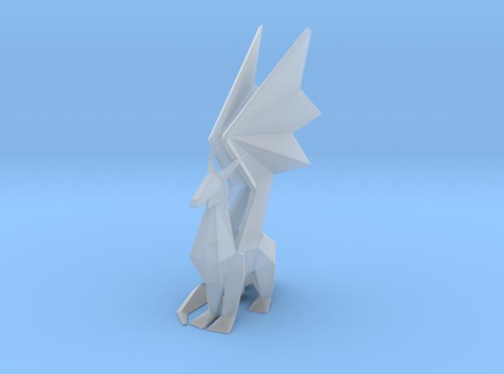 Crystal Dragon Statue 3d printed