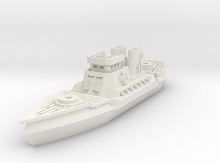 Dragoner Class Cruiser 3d printed