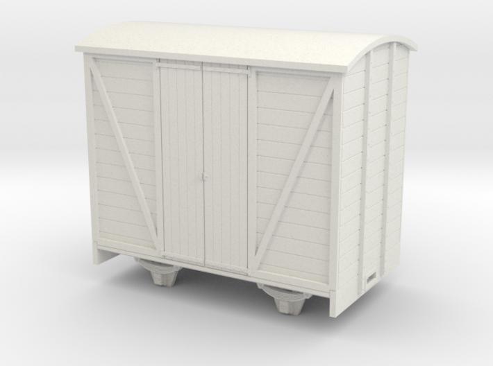 1:32/1:35 van with vertical planked doors 3d printed