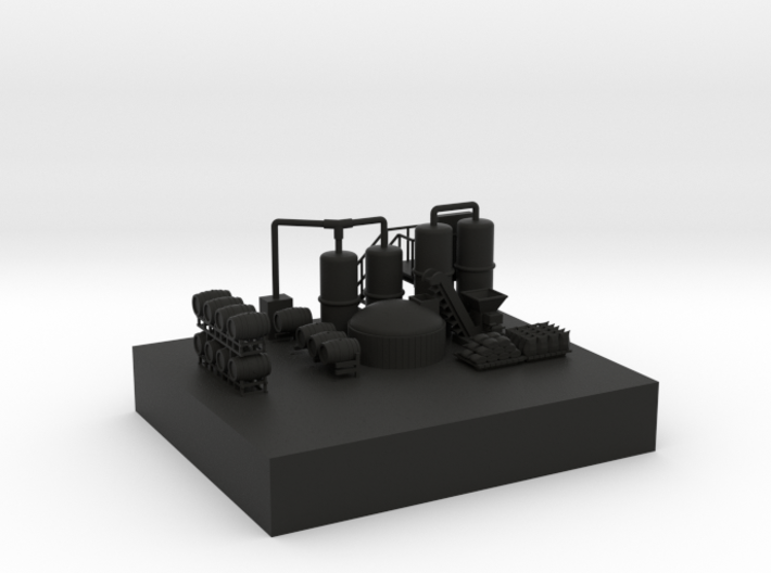 Brewery Equipment RR Height Dock 3d printed