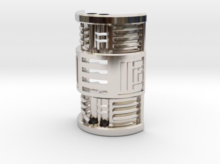 NWL Ezra - Master Part3 Lightsaber Chassis 3d printed