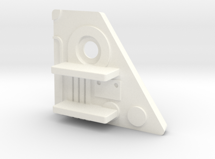 Starcom F-1400 Starwolf Missile Rack Adapter (RH) 3d printed