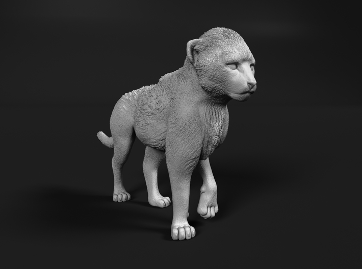 Cheetah 1:76 Walking Cub 1 3d printed