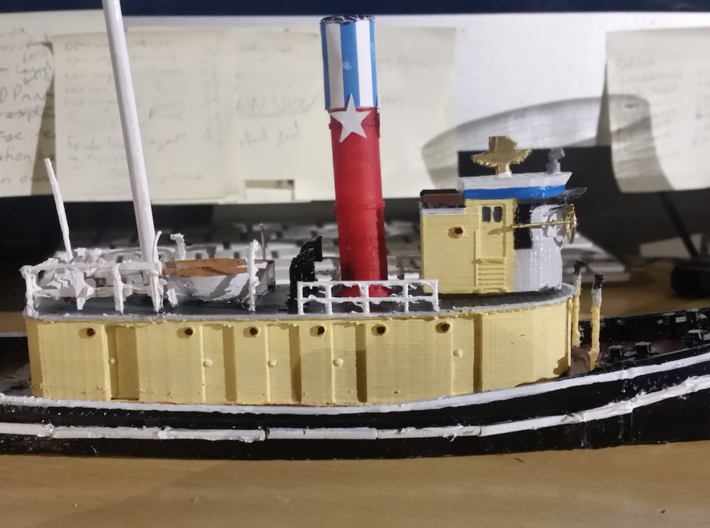 Hercules STAR TUGS Body (ERTL 20cm Scale) 3d printed Complete OO Scale Test Model