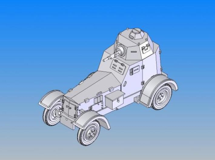 1/144 Polish ARMOURED CAR Wz.34-II 3d printed