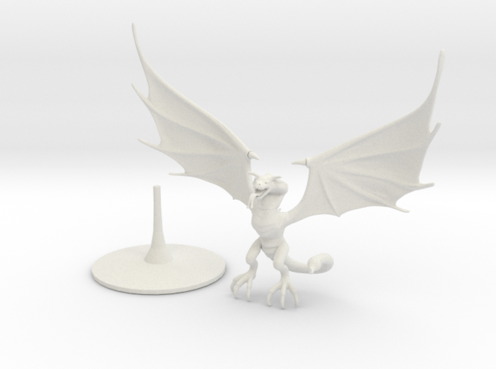 Wyvern (one piece) 3d printed