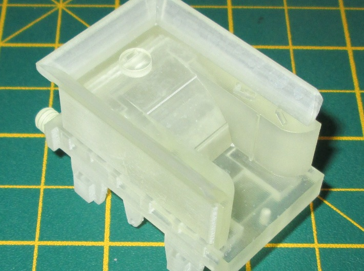 00 Scale Lion (Titfield Thunderbolt) Tender 3d printed An unpainted FED tender print