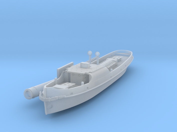 British steam tug Simla 1898 1:450 T-Gauge 3d printed